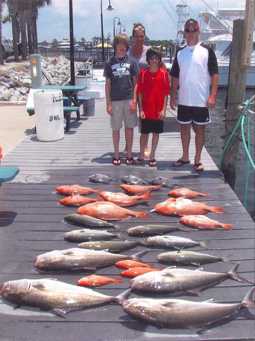 Panama city beach fishing charters